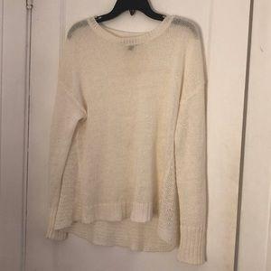 J. Crew Open Knit Sweater